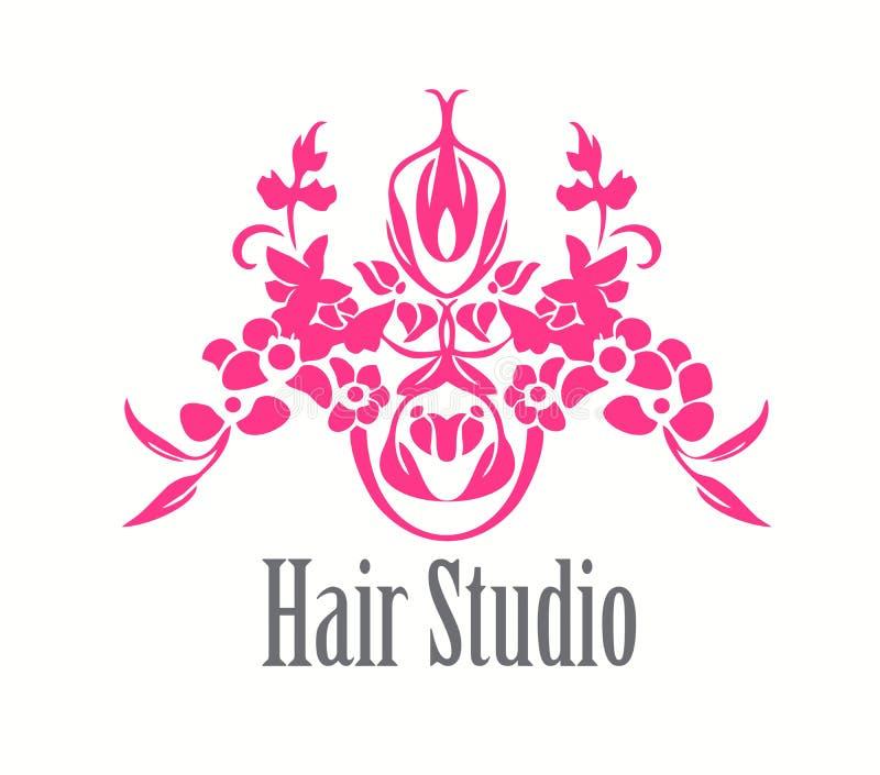 Hair Salon Logo Icon royalty free illustration
