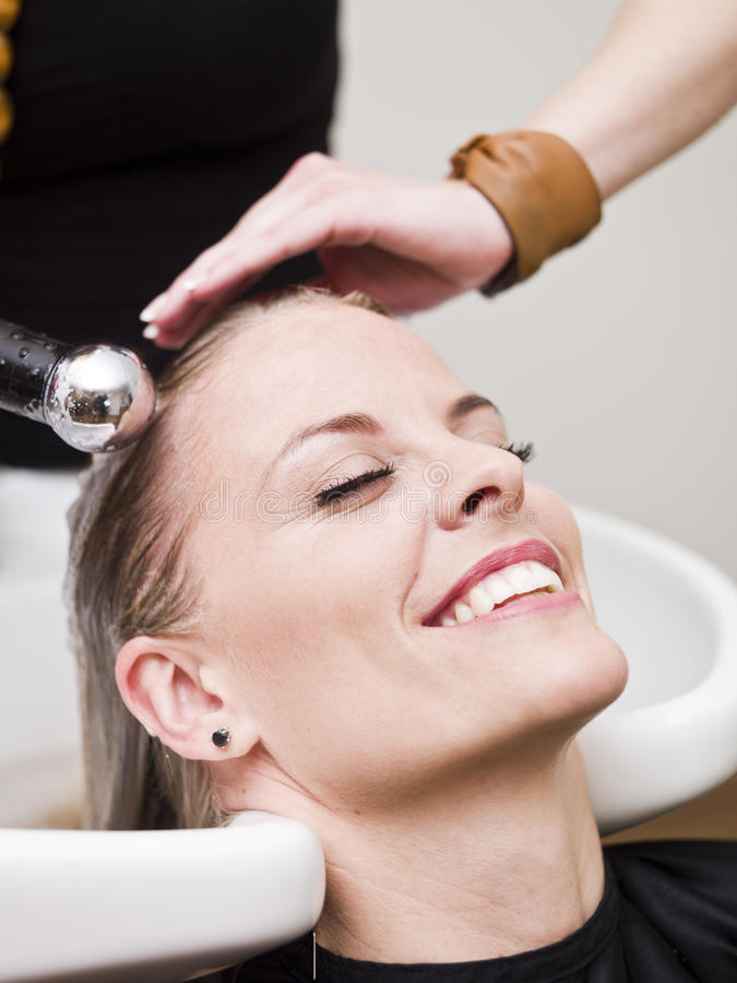 Hair Salon situation stock images