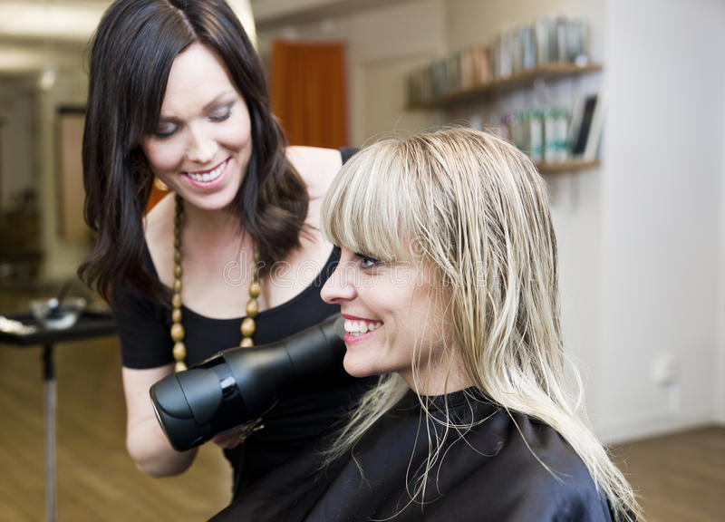 Download Hair Salon situation stock photo. Image of blond, sitting - 19137024