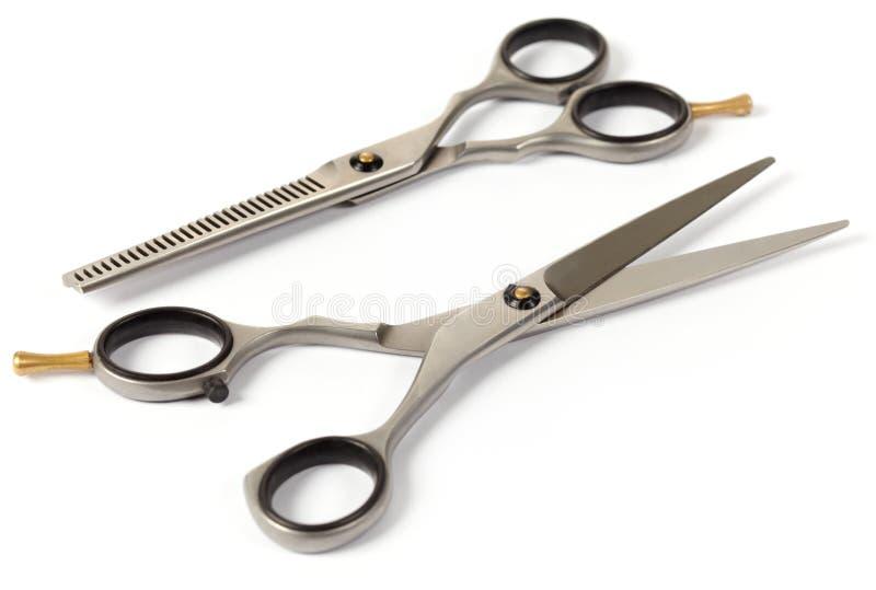 Hair scissors royalty free stock photos