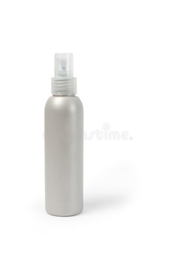 Hair spray. On a white background isolated stock image