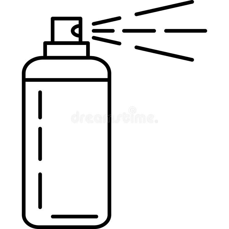 Hair Spray Icon Vector royalty free illustration