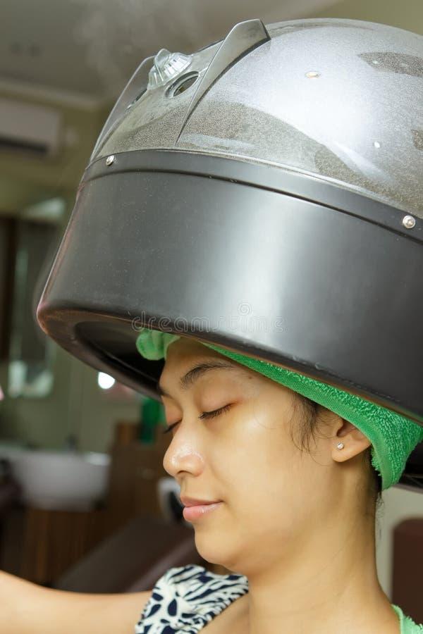Hair steam stock photography