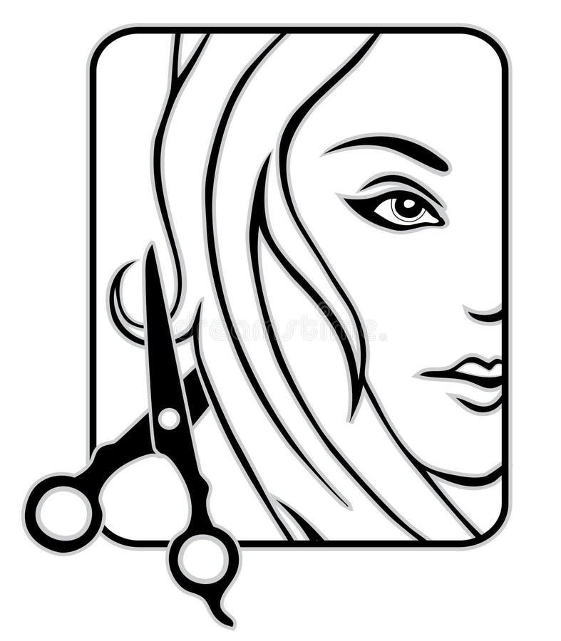 Hair studio vector illustration