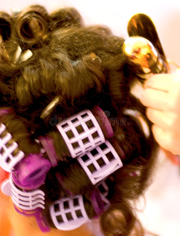 Hair Sytling stock images