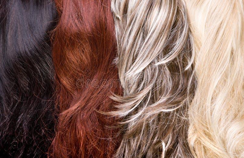 Hair texture stock image