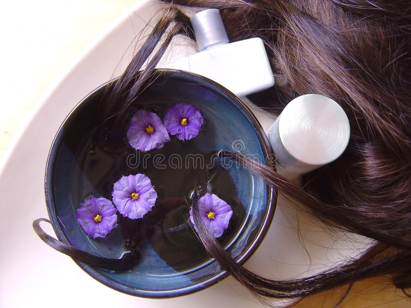 Hair Treatment 1 stock image