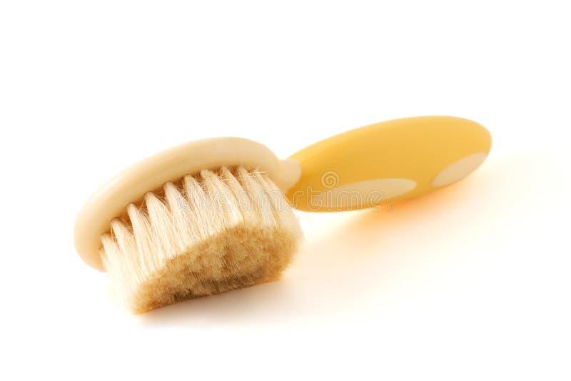hairbrush младенцев мягкий стоковые изображения