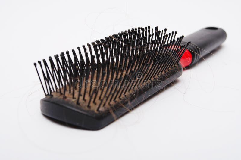 hairbrush старый стоковое изображение
