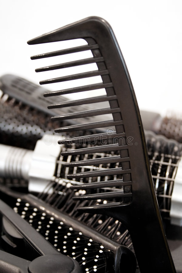Hairbrush fotografia de stock royalty free