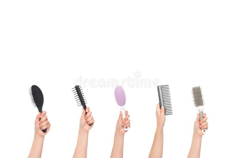 hairbrushes foto de stock royalty free