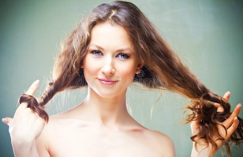 Haircare lizenzfreies stockbild