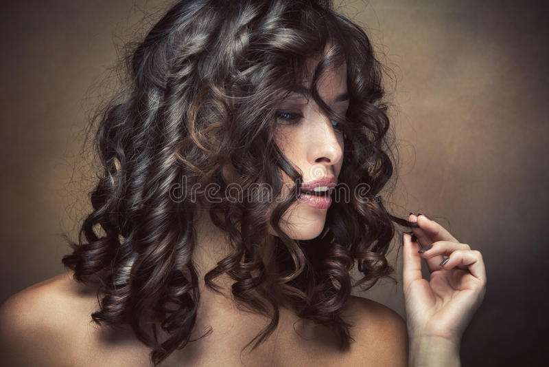 Haircare στοκ φωτογραφία με δικαίωμα ελεύθερης χρήσης