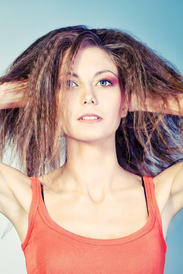 Haircare stockbilder