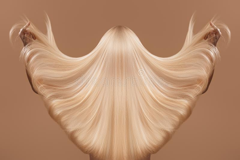 Haircare concept stock images
