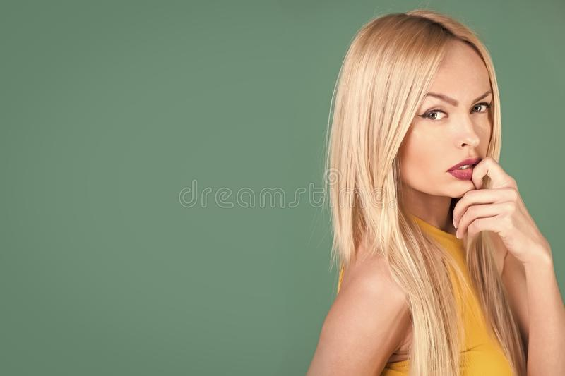 Haircare, fashion look. stock images