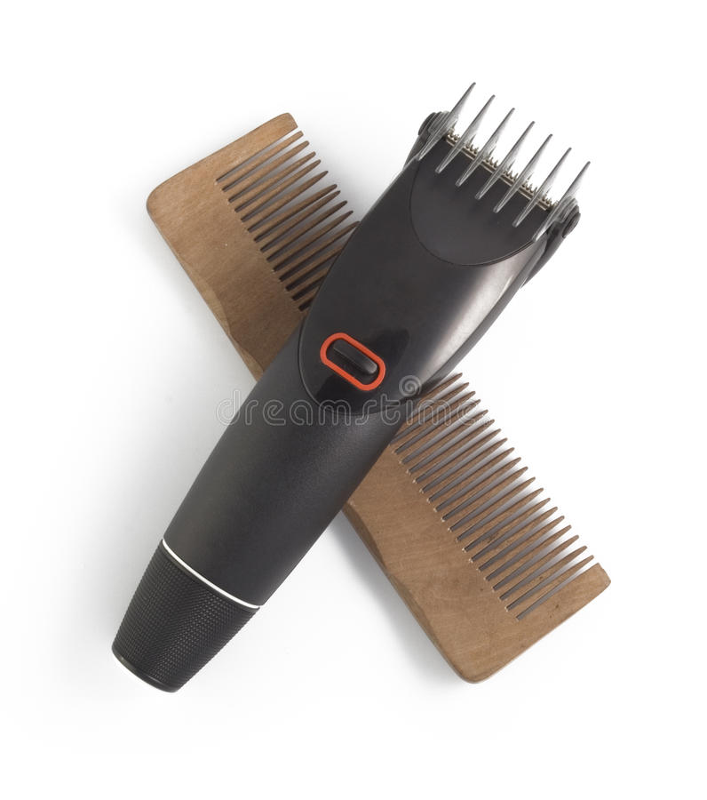 Free Hairclipper And Clipper Royalty Free Stock Photography - 16707567