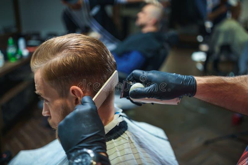 haircut imagem de stock