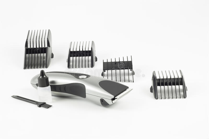 Haircut Machine And Clips Royalty Free Stock Photo
