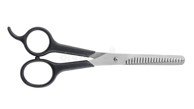 haircutting fachowi nożyce obrazy stock