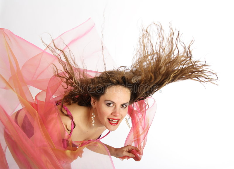 Download Hairdance 11 stock image. Image of fashion, blow, lips - 353181