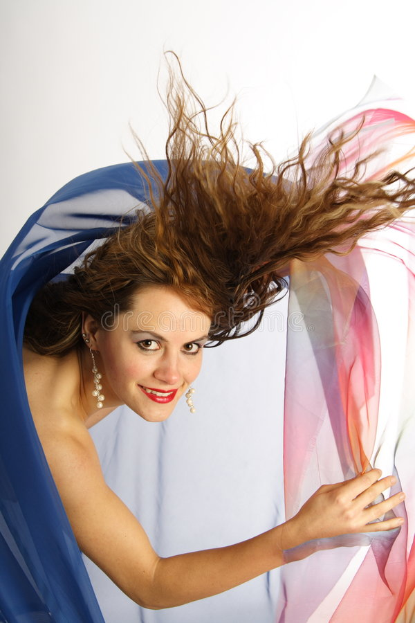 Hairdance 13 immagine stock