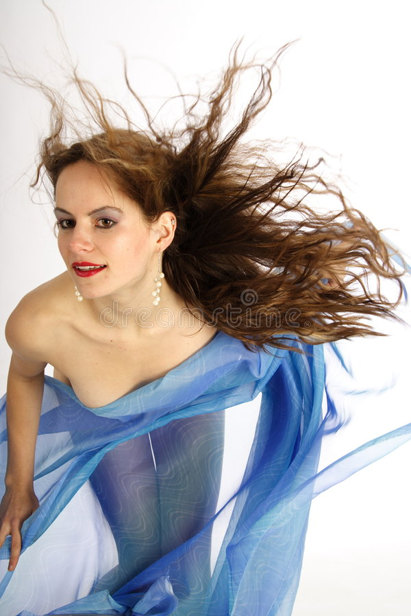 Hairdance 4 royalty-vrije stock afbeeldingen