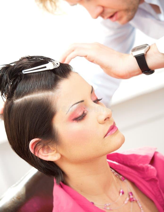 Hairdesign imagens de stock