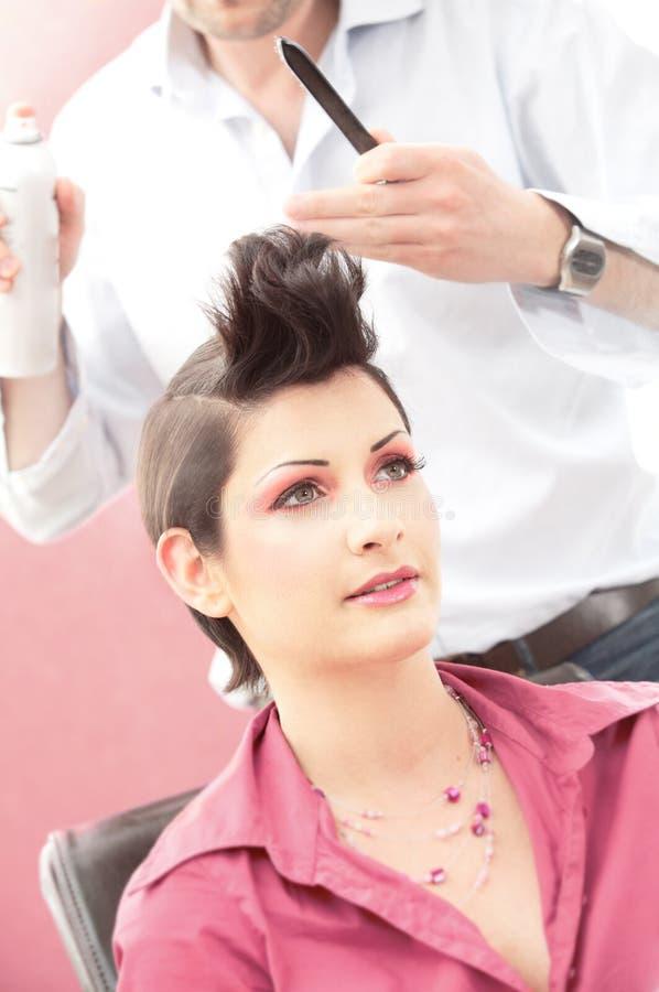 Hairdesign stock foto's