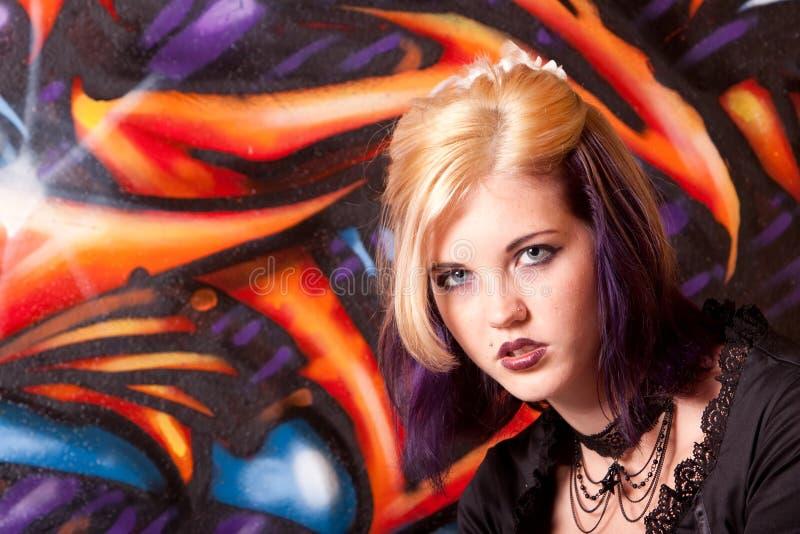 hairdo κοριτσιών makeup στοκ φωτογραφία με δικαίωμα ελεύθερης χρήσης