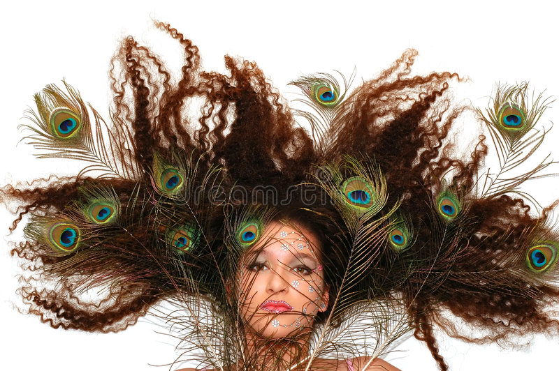 Hairdo fotografie stock