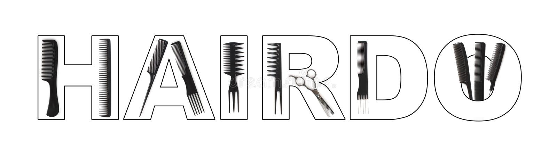 Hairdo concept vector illustration