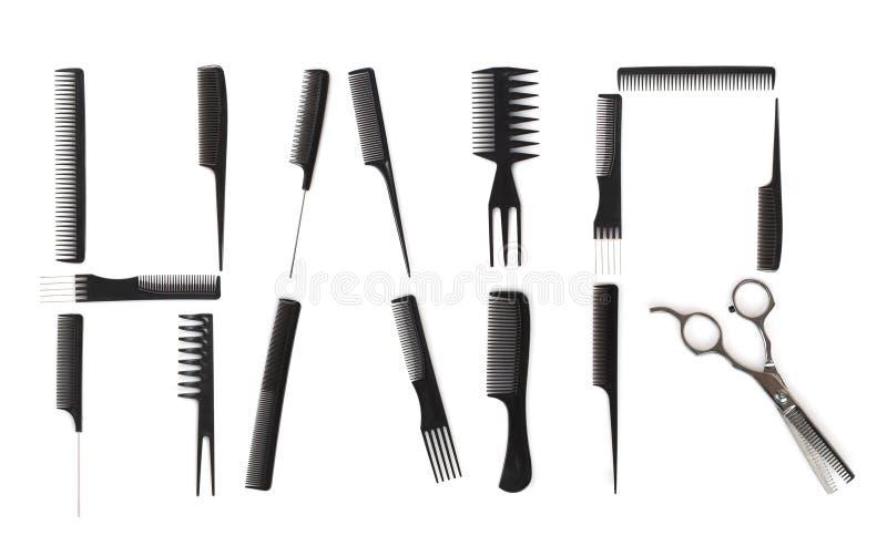 Hairdo concept stock image