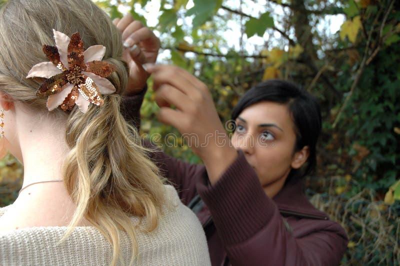 Hairdo1 fotografía de archivo