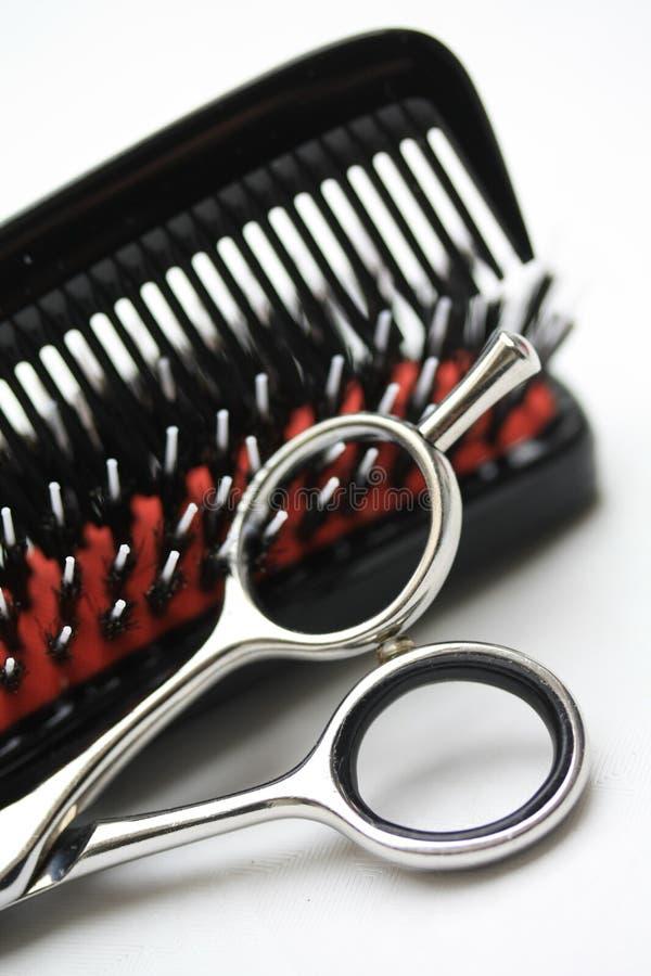 hairdress εργαλεία στοκ εικόνες