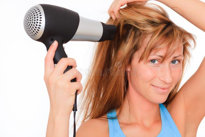 Hairdress haircare hairdry stockfotografie