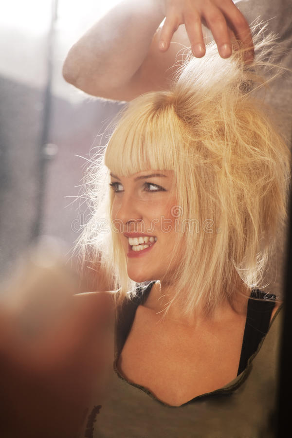 Download At the hairdresser stock image. Image of saloon, hairstyle - 11702233
