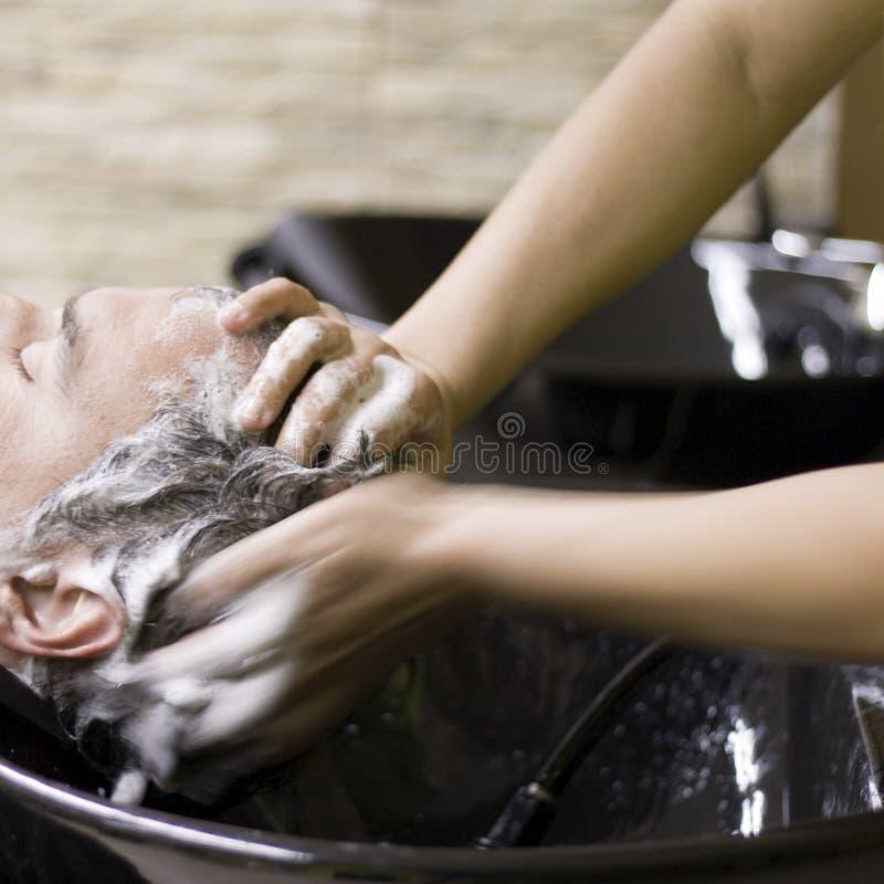 Hairdresser_3 stock foto's