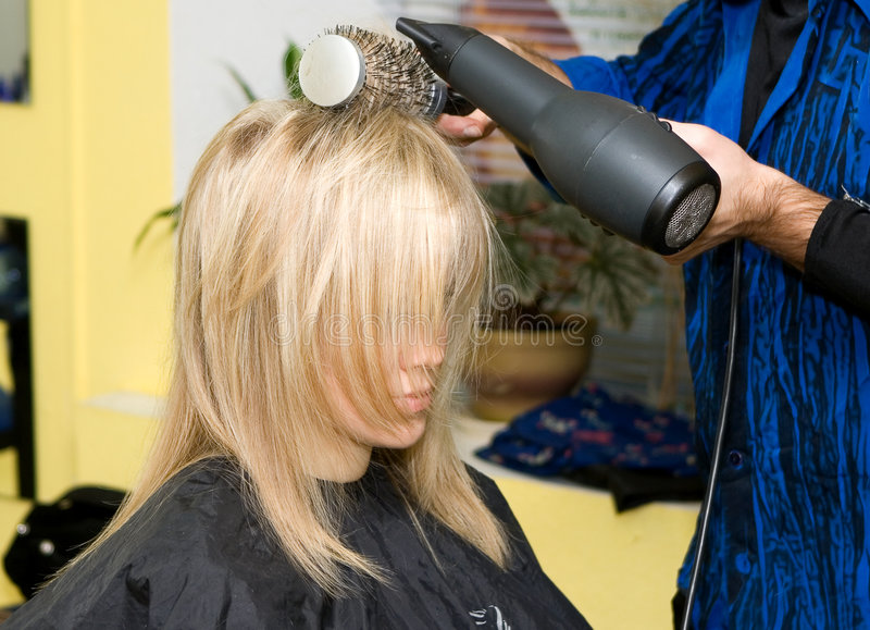Hairdresser S Royalty Free Stock Photo