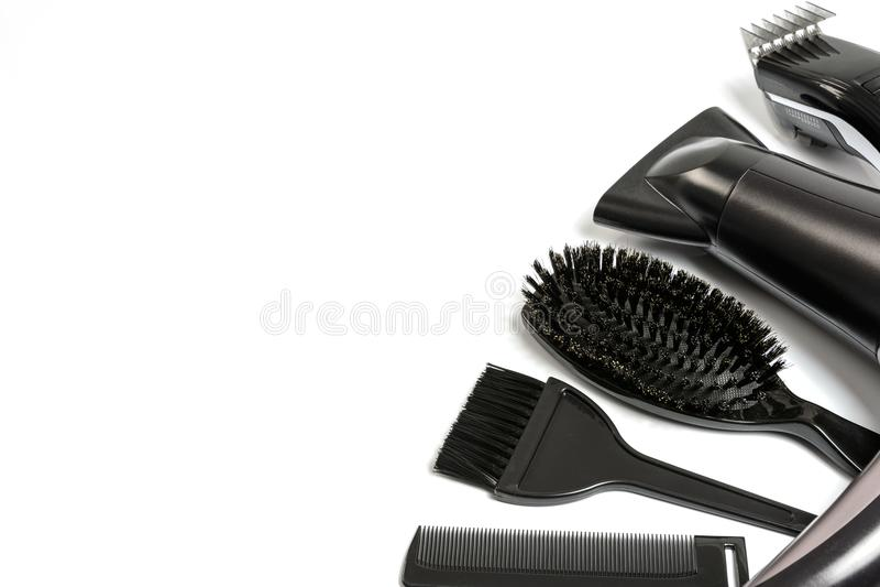 Hairdresser Salon Banner Stock Image Image Of Design 113254727