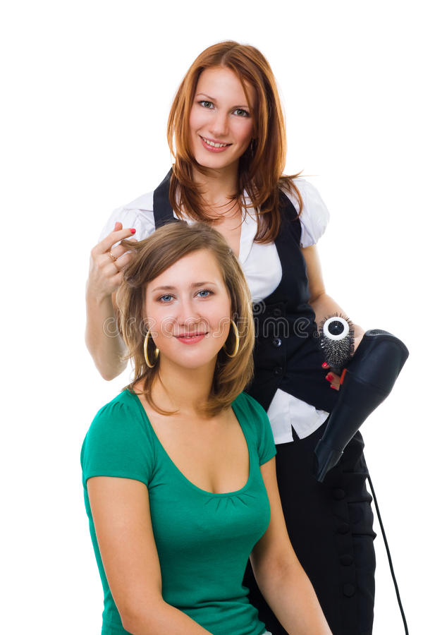 Free Hairdresser Working Stock Image - 10341301
