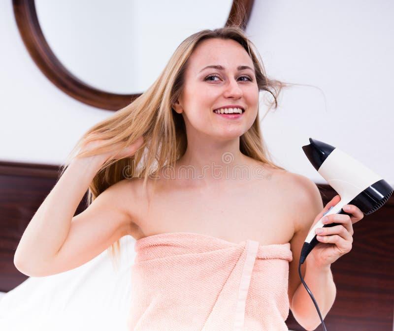 Hairdryer室 库存照片
