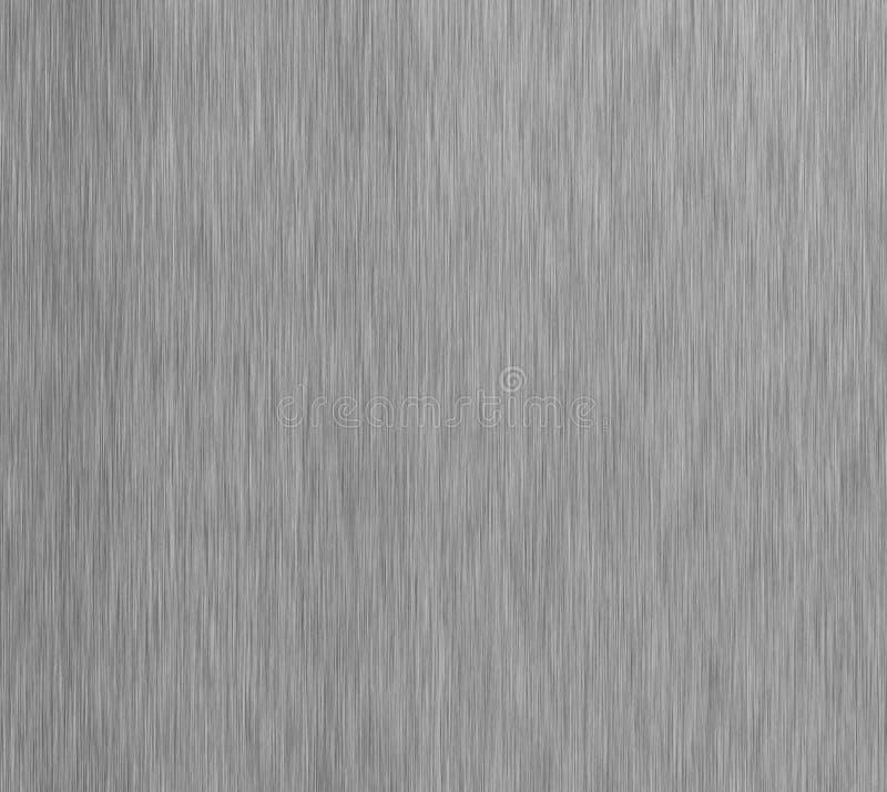 Hairline roestvrij staal Glanzende folie, zilveren brons, of de textuur van de het patroonoppervlakte van het kopermetaal Close-u royalty-vrije stock afbeelding