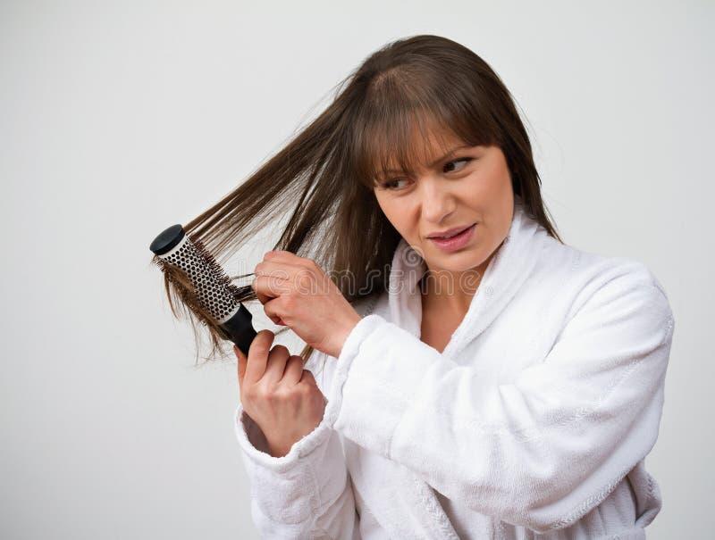 HairLoss stock afbeelding