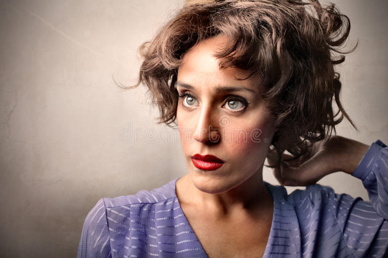 Download Hairstyle stock photo. Image of woman, vintage, toning - 17478720