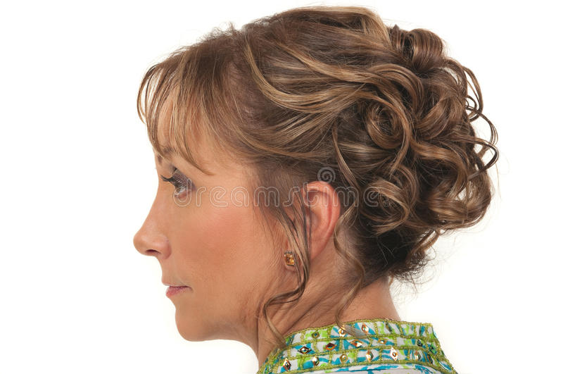 Hairstyle stock images