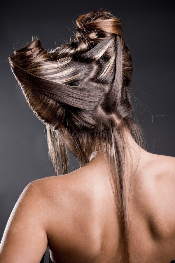 hairstyle στοκ εικόνες με δικαίωμα ελεύθερης χρήσης
