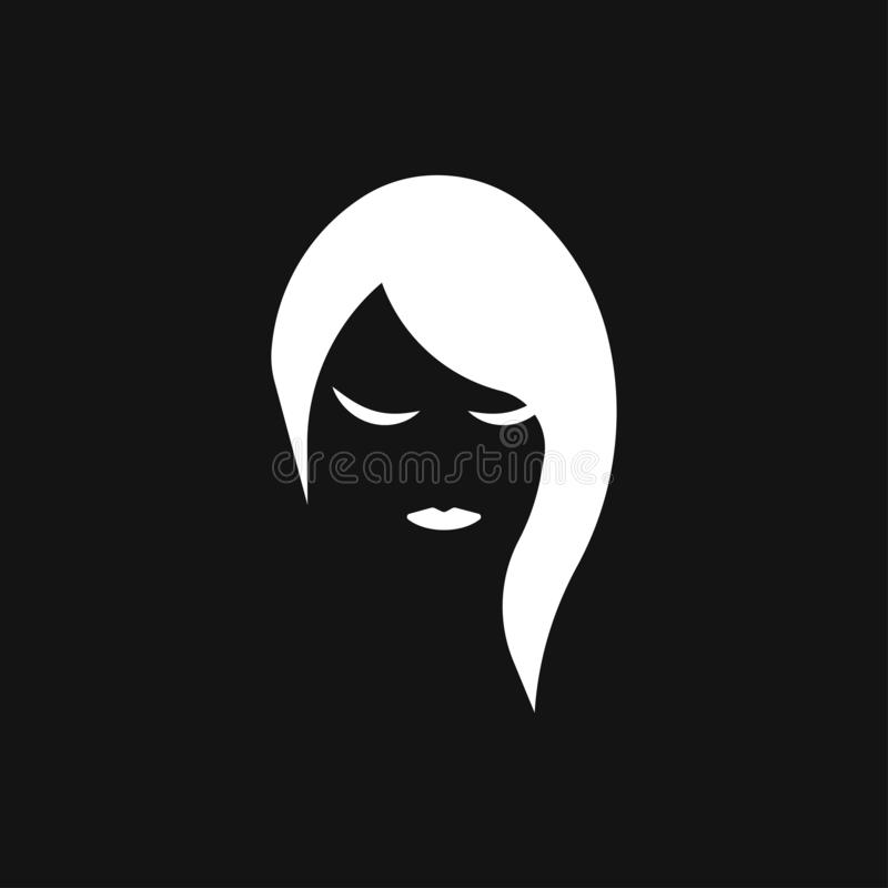 Hairstyle icon. Premium quality graphic design. logo, illustration, vector sign symbol for design. Hairstyle icon. Logo, illustration, vector sign symbol for vector illustration
