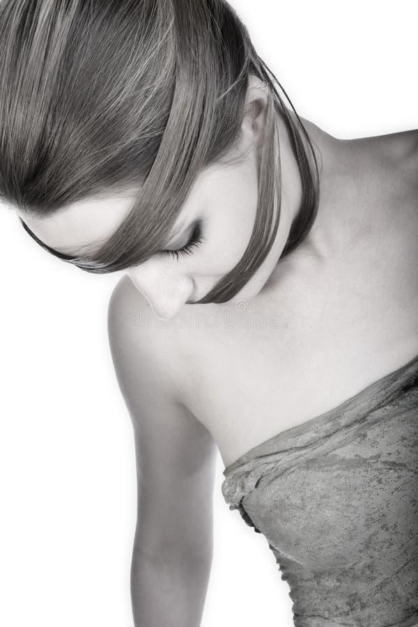 hairwear чувственное стоковые изображения