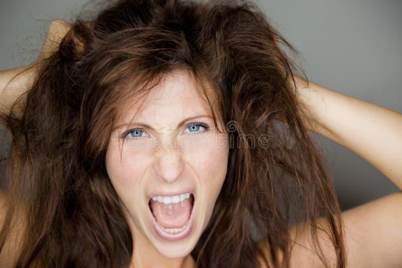Hairy stock image